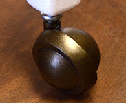 metal ball casters good for carpeting